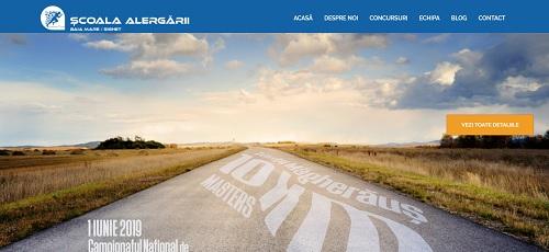 Școala Alergării - site de prezentare