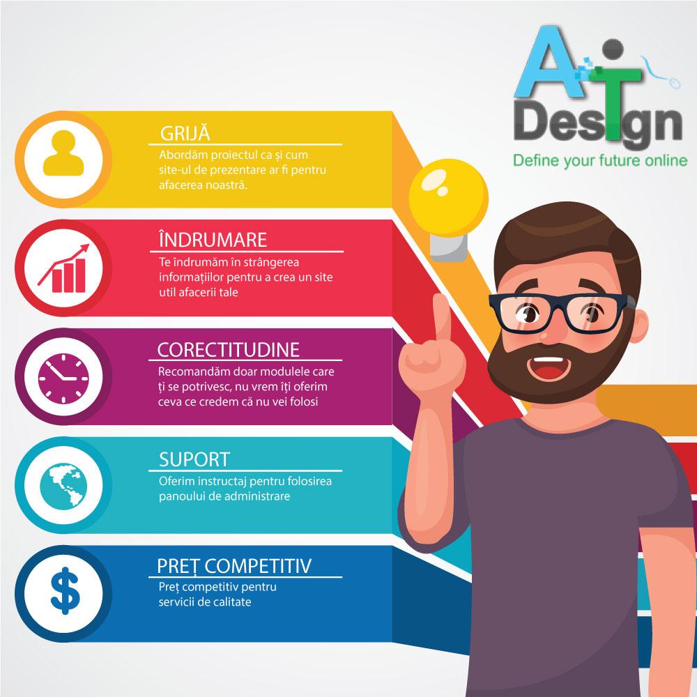 De ce să alegi AT Design?