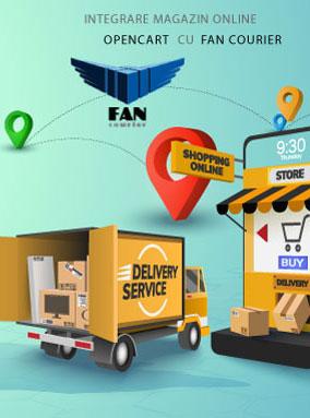 Integrare magazin online Opencart cu Fan Courier