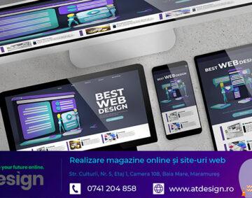 AT Design - Realizare site web