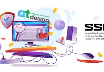 AT Design Baia Mare - Am o poblemă cu cetificatul SSL